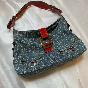 Rare Vintage Denim Guess HandBag